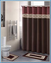 shower curtain sets cute bathroom sets with shower curtain and rugs decor