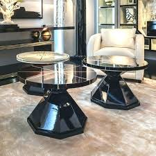 coffee table small round luxury side interiors nick scali levanzo