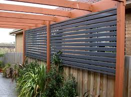deck and fence privacy screen