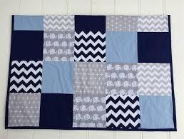 Baby Boy Navy Blue, Baby Blue & Grey Elephant Patchwork Cot Quilt ... &  Adamdwight.com