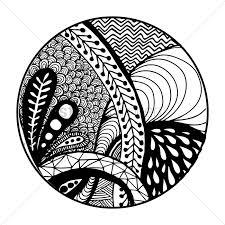 Ornamental Design Drawing Decorative Pattern Design Vector Image 1544080