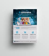 Flyer Header E Commerce Flyer Template With Big Header Flyer Template