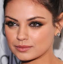 mila kunis makeup tips