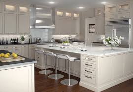 Modern white shaker kitchen Wood Countertop The Flexibility Of The Inset Shaker Door Allows One Project To Go Modern While The Neighbors Home Can Be Traditional Appliances Knobs Handles Light Pinterest White Shaker Cabinets Ad Panaccio