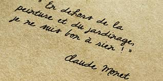 Fondation Claude Monet Citations