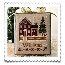 Chart Cross Stitch Free Hometown Holiday My House Cross Stitch Chart And Free