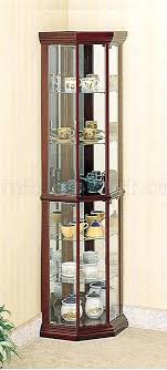 Corner Glass Cabinet Display For Sale  L18