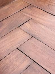 beautiful reclaimed rhodesian teak parquet flooring excellent condition