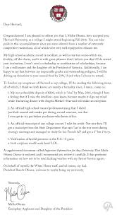 Best Ideas Of Harvard University Acceptance Letter Sample About Wp