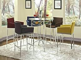 round pub table with chairs dining room pub table sets view larger bistro pub table set