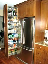 diy pull out pantry shelves pull out pantry narrow pull out pantry cabinet fridge gap slide