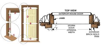 Larson Storm Door Size Chart How To Measure For A Storm Or Screen Door Larson Storm Doors
