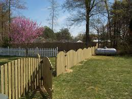 Company Portfolio Custom wood iron and PVC fences Richmond