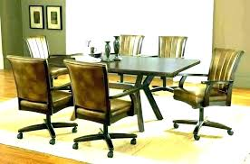 kitchen table chairs with wheels kitchen chairs with casters dining chairs dining chair casters caster room