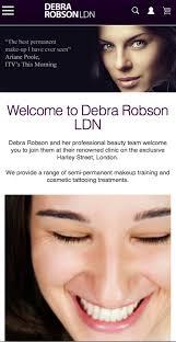 debra robson ldn semi permanent makeup