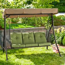 Hd Designs Outdoors Hd Designs Outdoors Beale Street 3 Seat Swing Outdoor