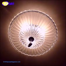 fumat round modern clear glass crystal chandelier ceiling artistic