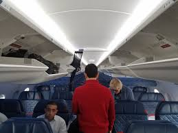 delta is reducing seat recline and