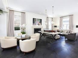 Wood floors in living room Contemporary View In Gallery Hgtvcom 40 Dark Hardwood Floors That Bring Life To All Kinds Of Rooms
