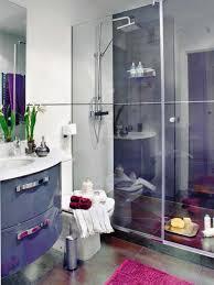 bathroom sparkling home bathroom with glass shower door beside floating single sink vanity arrange your