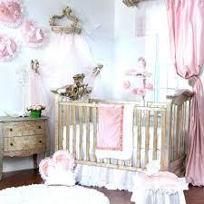 modern girl crib bedding princess crib bedding pink white modern princess fl ruffle baby girl nursery