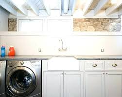 small basement laundry room ideas decorating unfinished makeover86 makeover