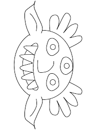 Small Picture Monster Halloween Coloring Pages Coloring Coloring Pages