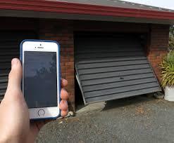 homemade garage door opener