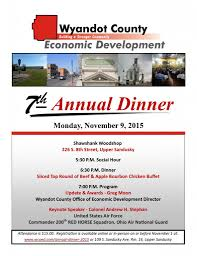 annual dinner set for th tickets available wyandot 2015 dinner invitation