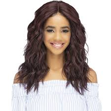 Vivica A Fox Natural Baby Hair Invisible Lace Part Swiss Front Wig - HEBE