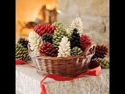 Creative Pinecone Crafts For Your Holiday Decorations Inspirations Christmas Pine Cone Crafts