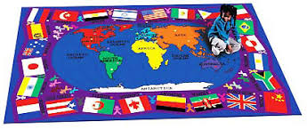 carpet world. two sizes available, flags of the world carpet t