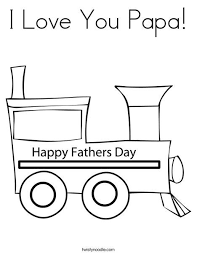 Children can add thei rown border to the card. I Love You Papa Coloring Page Fathers Day Coloring Page I Love My Dad Love You Papa