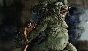 monster creature grendel. Simple Monster Inside Monster Creature Grendel 0