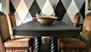 time fancy dining room. My Brown To Black Dining Room Makeover Time Fancy E