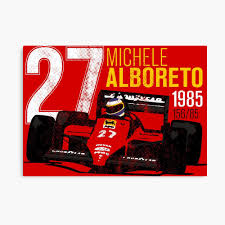 Michele Alboreto 1985 Tribute