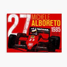 Michele Alboreto 1985 Tribute
