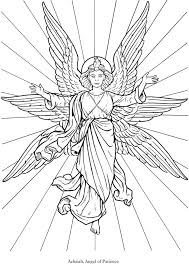 Small Picture 171 best Angels to Color images on Pinterest Line art Adult