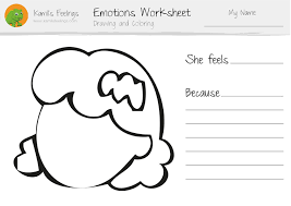 41 Emotions Coloring Pages For Preschoolers, Emotions Faces ...