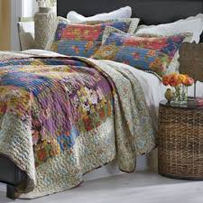 Savannah Quilt and Sham from Country Door | ND717916 & Savannah Quilt and Sham Adamdwight.com
