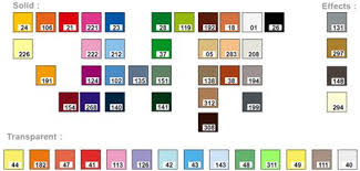 Lego Brick Colour Chart Colour Palette Greyscale Colour Color Brick Colors