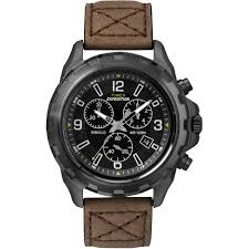 timex men 039 s expedition rugged chronograph indiglo leather timex men 039 s expedition rugged chronograph indiglo