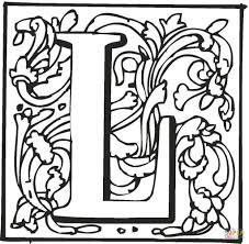 Letter L Is For Love Coloring Page Free Printable Learning Kids