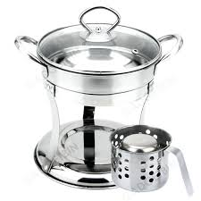 chafer dish set stainless steel mini steamboat pot food warmer chafing home improvement industry south africa