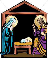 mary and joseph clip art. Delighful Clip Nativity With Mary Joseph And Jesus Throughout Mary And Clip Art S