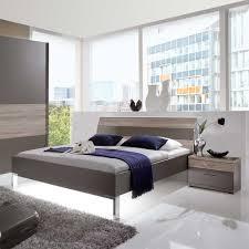 Schlafzimmer Set Nevrin In Braun Eiche Trüffelfarben 4 Teilig