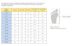 Uk Baby Foot Size Chart Www Bedowntowndaytona Com