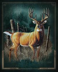 whitetail deer painting Животные wildlife art paintings and wildlife paintings
