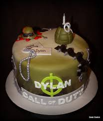 call of duty cake Cake I did for my cousin