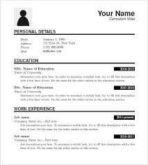 Resume Download Cool Resume Templates For Download Commily